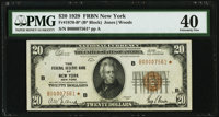 Fr. 1870-B* $20 1929 Federal Reserve Bank Note. PMG Extremely Fine 40