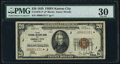 Fr. 1870-J* $20 1929 Federal Reserve Bank Note. PMG Very Fine 30