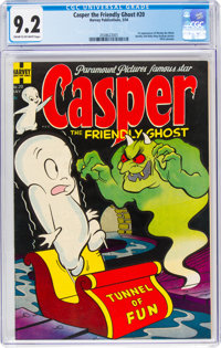 Casper the Friendly Ghost #20 (Harvey, 1954) CGC NM- 9.2 Cream to off-white pages