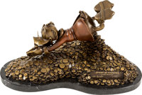 """Paul Vought and Carl Barks Scrooge McDuck """"Sport of Tycoons"""" Bronze Limited Edition Statue #16/100 (Walt Disne..."""