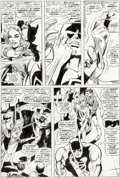 Original Comic Art:Panel Pages, Gene Colan and John Tartaglione Daredevil #31 Story Page 5 Original Art (Marvel, 1967)....