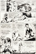 Original Comic Art:Panel Pages, Dick Dillin and Neal Adams Superman #249 Story Page 4 Original Art (DC, 1972)....