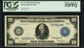 Large Size:Federal Reserve Notes, Fr. 917 $10 1914 Federal Reserve Note PCGS Choice About New 55PPQ.. ...