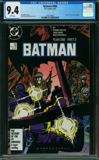Batman #406 (DC, 1987) CGC NM 9.4 WHITE pages