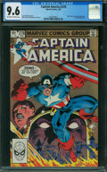 Modern Age (1980-Present):Superhero, Captain America #278 (Marvel, 1983) CGC NM+ 9.6 OFF-WHITE TO WHITE pages.