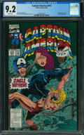 Modern Age (1980-Present):Superhero, Captain America #415 (Marvel) CGC NM- 9.2 WHITE pages.