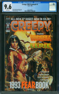 Magazines:Horror, Creepy 1993 Fearbook #1 (Harris Publications, 1993) CGC NM+ 9.6 WHITE pages.