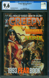 Creepy 1993 Fearbook #1 (Harris Publications, 1993) CGC NM+ 9.6 WHITE pages