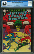 Silver Age (1956-1969):Superhero, Justice League of America #70 (DC, 1969) CGC FN 6.0 OFF-WHITE TO WHITE pages.