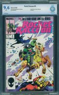 Modern Age (1980-Present):Superhero, Rocket Raccoon #4 - CBCS CERTIFIED (Marvel, 1985) CGC NM+ 9.6 White pages.
