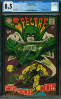 Silver Age (1956-1969):Superhero, The Spectre #7 (DC, 1968) CGC VF+ 8.5 OFF-WHITE TO WHITE pages.