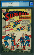 Silver Age (1956-1969):Superhero, Superman #148 (DC, 1961) CGC VF 8.0 Off-white to white pages.