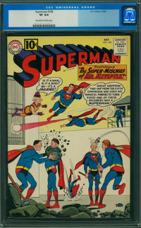 Superman #148 (DC, 1961) CGC VF 8.0 Off-white to white pages