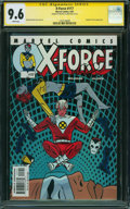 Modern Age (1980-Present):Superhero, X-Force #117 (Marvel, 2001) CGC NM+ 9.6 WHITE pages.