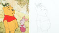 Animation Art:Presentation Cel, The Tigger Movie Pooh and Piglet Pre...