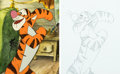 Animation Art:Presentation Cel, The Tigger Movie Presentation Cel with Key Master Background and Drawing (Walt Disney, 2000)....