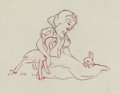 Animation Art:Concept Art, Snow White and the Seven Dwarfs Layout/Publicity Drawing (Walt Disney, 1937)....