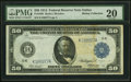 Large Size:Federal Reserve Notes, Fr. 1064 $50 1914 Federal Reserve Note PMG Very Fine 20.. ...