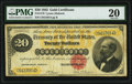Large Size:Gold Certificates, Fr. 1178 $20 1882 Gold Certificate PMG Very Fine 20.. ...