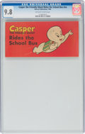 Silver Age (1956-1969):Cartoon Character, Casper the Friendly Ghost Rides the School Bus #nn (Harvey, 1960) CGC NM/MT 9.8 Off-white to white pages....