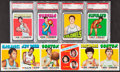 Basketball Cards:Lots, 1971 and 1972 Topps Basketball Collection (107). ...