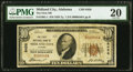 National Bank Notes:Alabama, Midland City, AL - $10 1929 Ty. 1 The First National Bank Ch. # 8458 PMG Very Fine 20.. ...