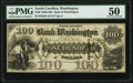 Washington, NC- Bank of Washington $100 Nov. 1, 1861 G26 PMG About Uncirculated 50