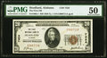 National Bank Notes:Alabama, Headland, AL - $20 1929 Ty. 1 The First National Bank Ch. # 7424 PMG About Uncirculated 50.. ...