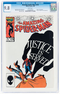 The Amazing Spider-Man #278 (Marvel, 1986) CGC NM/MT 9.8 White pages