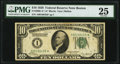 Fr. 2000-A* $10 1928 Federal Reserve Note. PMG Very Fine 25