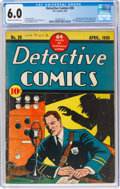 Golden Age (1938-1955):Adventure, Detective Comics #26 (DC, 1939) CGC FN 6.0 Cream to off-white pages....