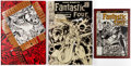 Books:Fine Press and Limited Editions, Artist Edition Books Group of 3 (IDW/Marvel, 2013-17).... (Total: 3 Items)