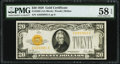 Fr. 2402 $20 1928 Gold Certificate. PMG Choice About Unc 58 EPQ