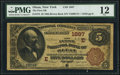 Olean, NY - $5 1882 Brown Back Fr. 472 The First National Bank Ch. # (E)1887 PMG Fine 12