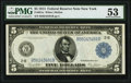 Fr. 851a $5 1914 Federal Reserve Note PMG About Uncirculated 53