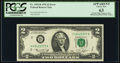 Mismatched Serial Number Prefix Error Fr. 1935-B $2 1976 Federal Reserve Note. PCGS Apparent Choice New 63