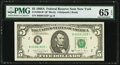 Fr. 1980-B* $5 1988A Federal Reserve Star Note. PMG Gem Uncirculated 65 EPQ