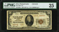 National Bank Notes:Pennsylvania, Erie, PA - $20 1929 Ty. 1 The National Bank & Trust Company Ch. # 14219 PMG Very Fine 25.. ...