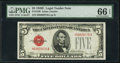 Small Size:Legal Tender Notes, Fr. 1530 $5 1928E Legal Tender Note. PMG Gem Uncirculated 66 EPQ.. ...