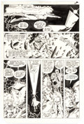 Original Comic Art:Panel Pages, George Pérez and Romeo Tanghal New Teen Titans #30 Story Page 10 Robin and Starfire Original Art (DC, 1983)....