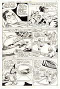 Original Comic Art:Panel Pages, Curt Swan and Frank Chiaramonte Superman #360 Story Page 10 Original Art (DC Comics, 1981)....