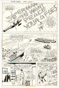 Curt Swan and Murphy Anderson Action Comics #417 Story Page 9 Original Art (DC Comics, 1972)