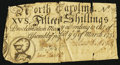 Colonial Notes:North Carolina, North Carolina March 9, 1754 15s Fine.. ...
