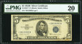 Small Size:Silver Certificates, Fr. 1657* $5 1953B Silver Certificate Star. PMG Very Fine 20.. ...