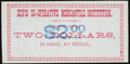 Obsoletes By State:Utah, (Scipio), UT - Scipio Co-op Mercantile Institution $2 ND Rust 200 Nyholm 286 Remainder Choice Crisp Uncirculated.. ...
