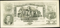 CT20 Facsimile $20 1861 About Uncirculated