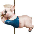 Animation Art:Maquette, The Three Little Pigs Fifer Pig Carousel Ride Figure (Walt Disney, 1950s-60s)....