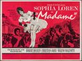 "Movie Posters:Foreign, Madame (20th Century Fox, 1963). Folded, Fine+. British Quad (30"" X 40""). Foreign.. ..."
