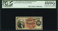 Fractional Currency:Fourth Issue, J.N. Huston Courtesy Autograph Fr. 1301 25¢ Fourth Issue PCGS Choice About New 55PPQ.. ...