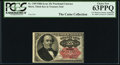 Fractional Currency:Fifth Issue, J.N. Huston Courtesy Autograph Fr. 1309 25¢ Fifth Issue PCGS Choice New 63PPQ.. ...